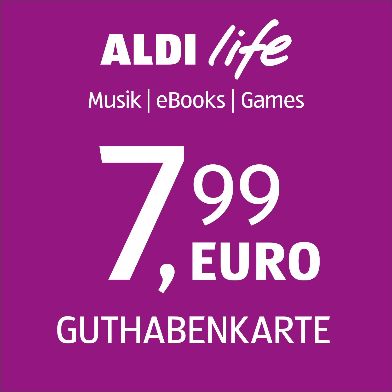 ALDI life Guthabenkarte 7,99€