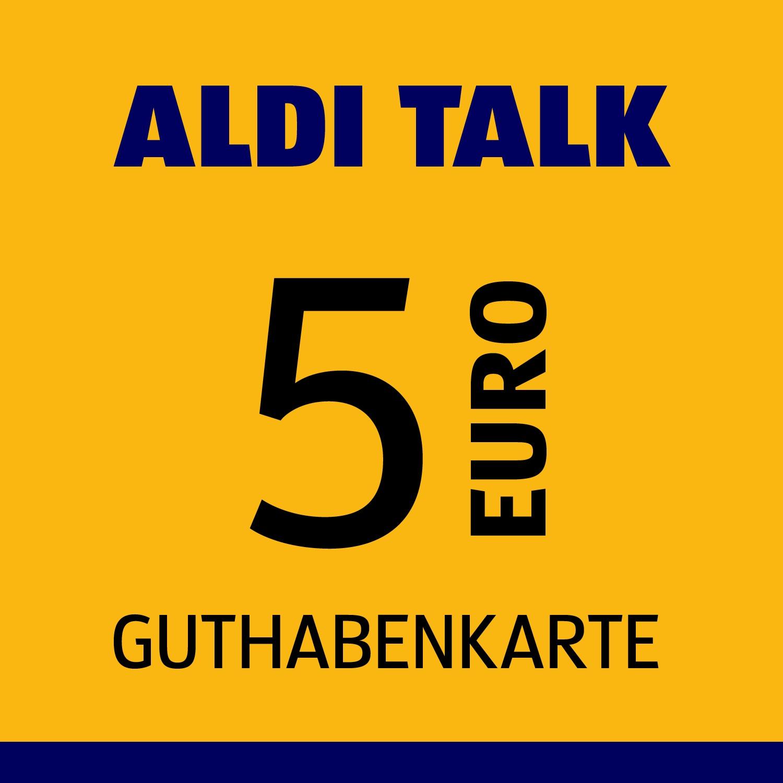 ALDI TALK Guthabenkarte 5€
