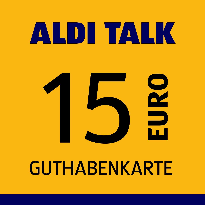 ALDI TALK Guthabenkarte 15€
