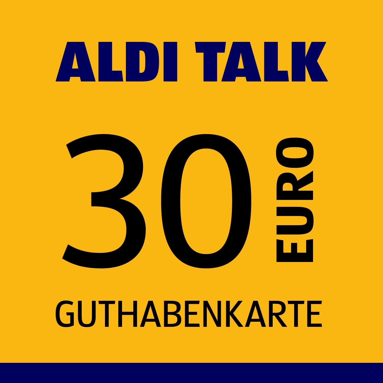 ALDI TALK Guthabenkarte 30€