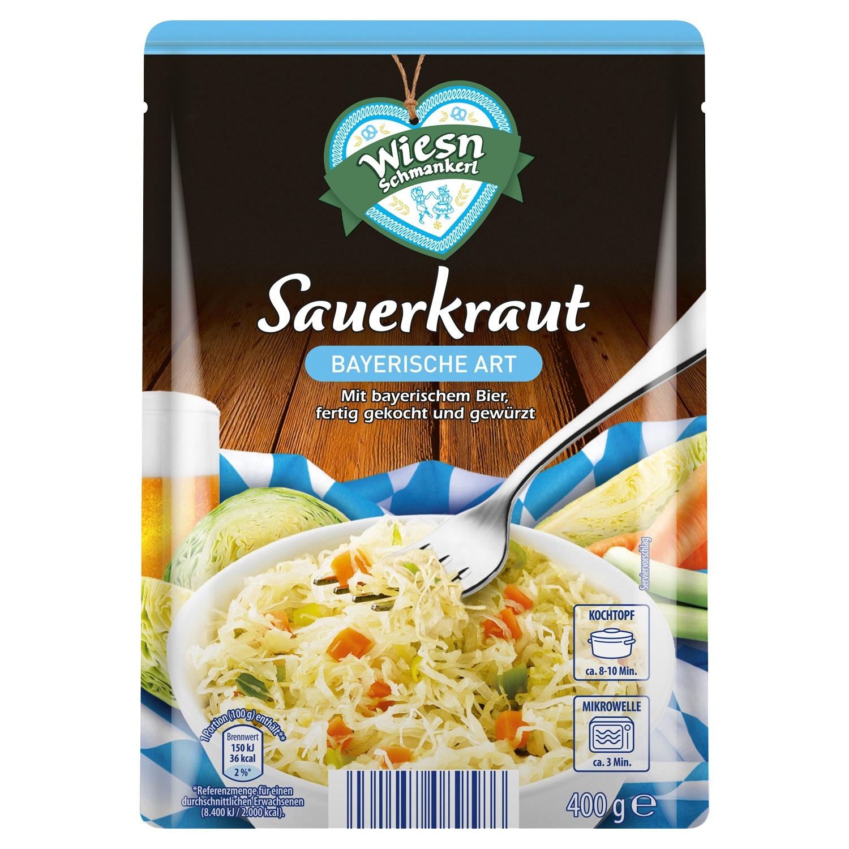 Wiesn Schmankerl Sauerkraut-Spezialität Bayerische Art 400g*