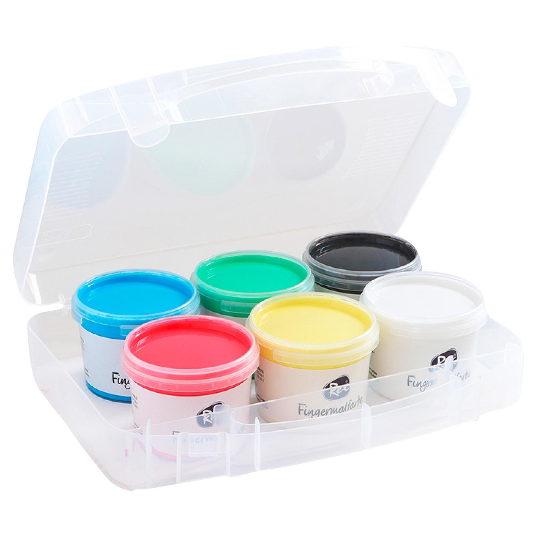 Rex® Fingermalfarben 600g*