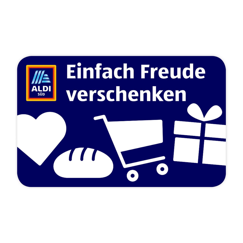 ALDI SÜD Geschenkkarte 50 EUR