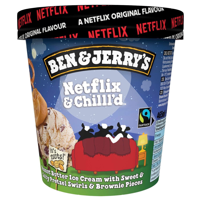 Ben & Jerry's Netflix&Chilll'd 465ml*