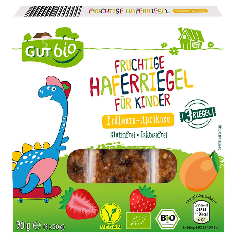 GUT bio Fruchtige Haferriegel 90g*