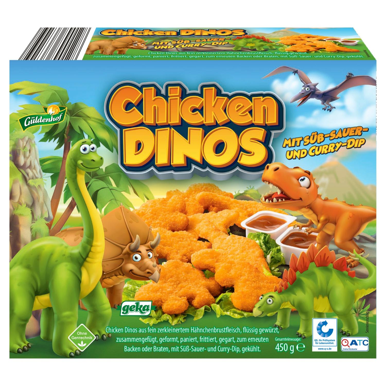 Güldenhof Chicken Dinos 450g*