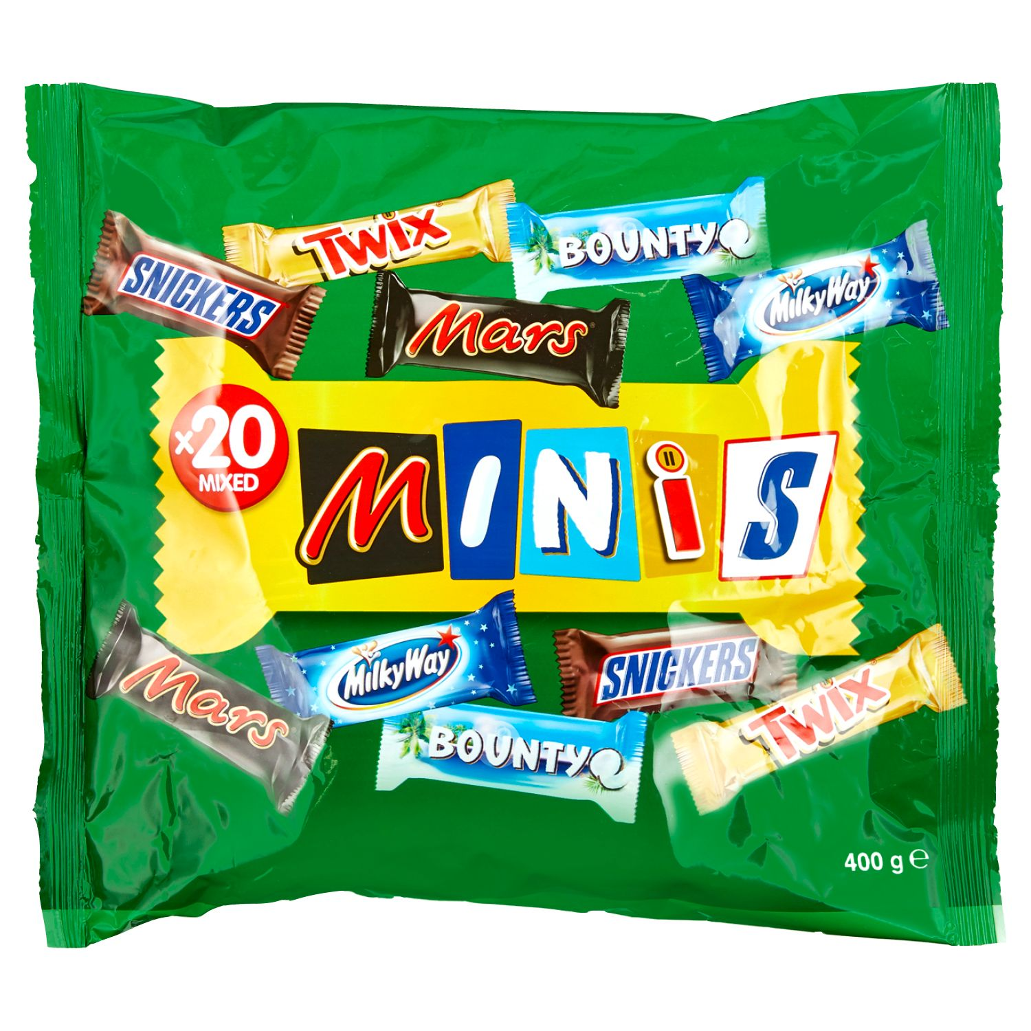 Mars/ Twix/ Bunty/ Milky Way/ Snickers Mixed Minis 400g*