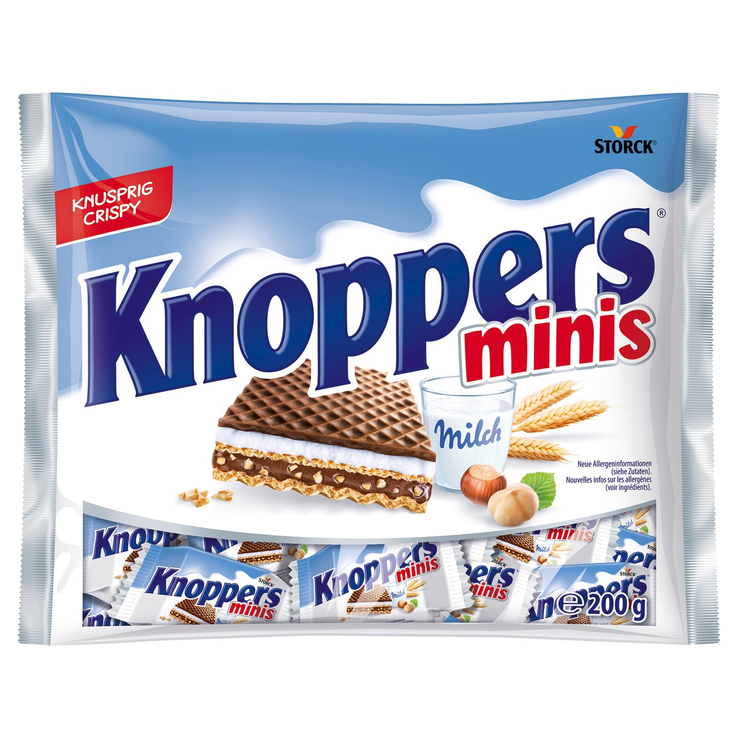 STORCK® Knoppers® Minis 200g*