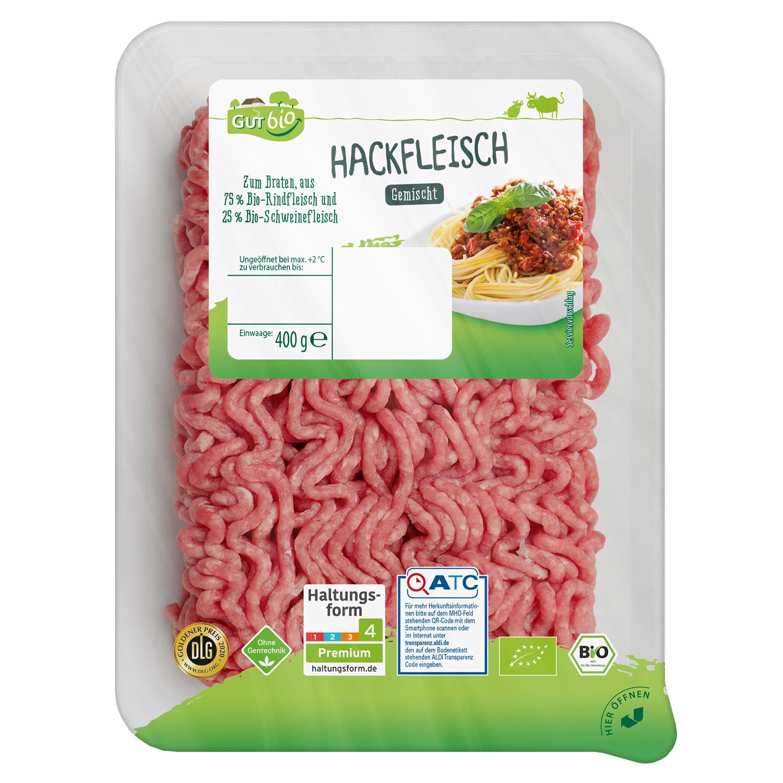 GUT bio Bio-Hackfleisch, gemischt 400 g