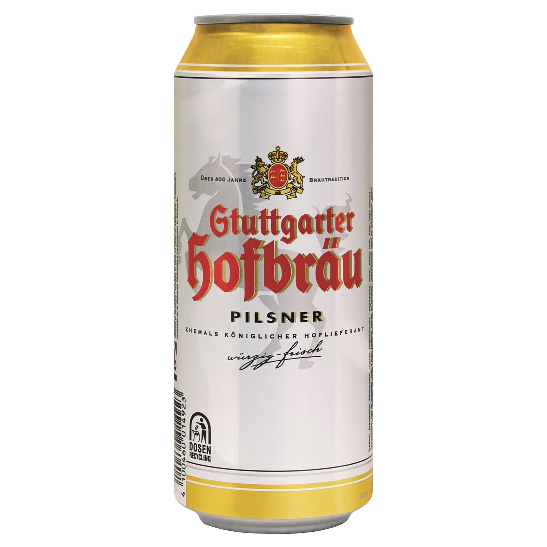 Stuttgarter Hofbräu Pilsener 0,5l