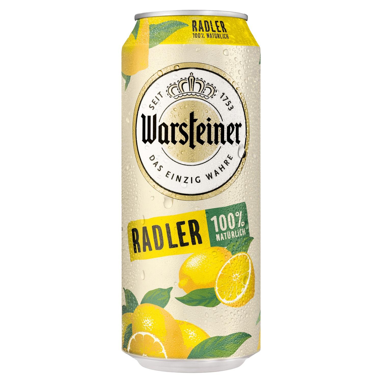 Warsteiner Radler Zitrone 0,5l