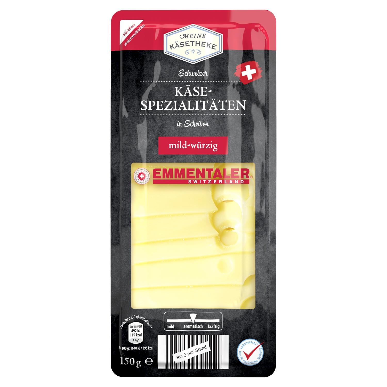 Meine Käsetheke Schweizer Käse 150 g