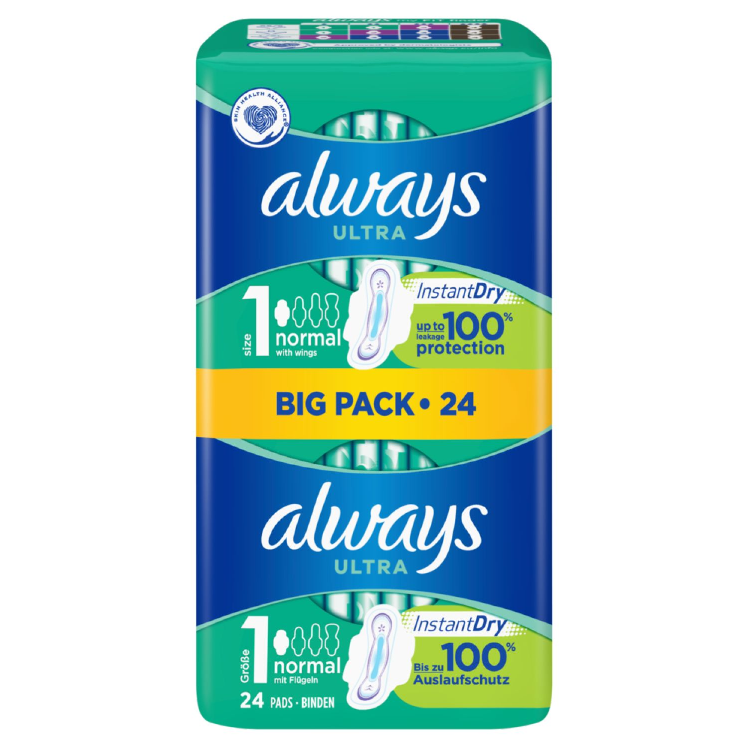 always Ultra Instant Dry Normal Big Pack 24 Stück