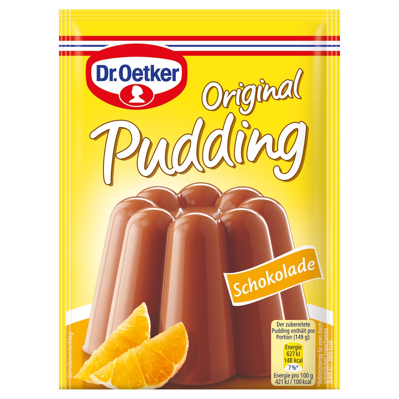 Dr. Oetker Original Pudding Vanille/ Sahne 4 x 37g