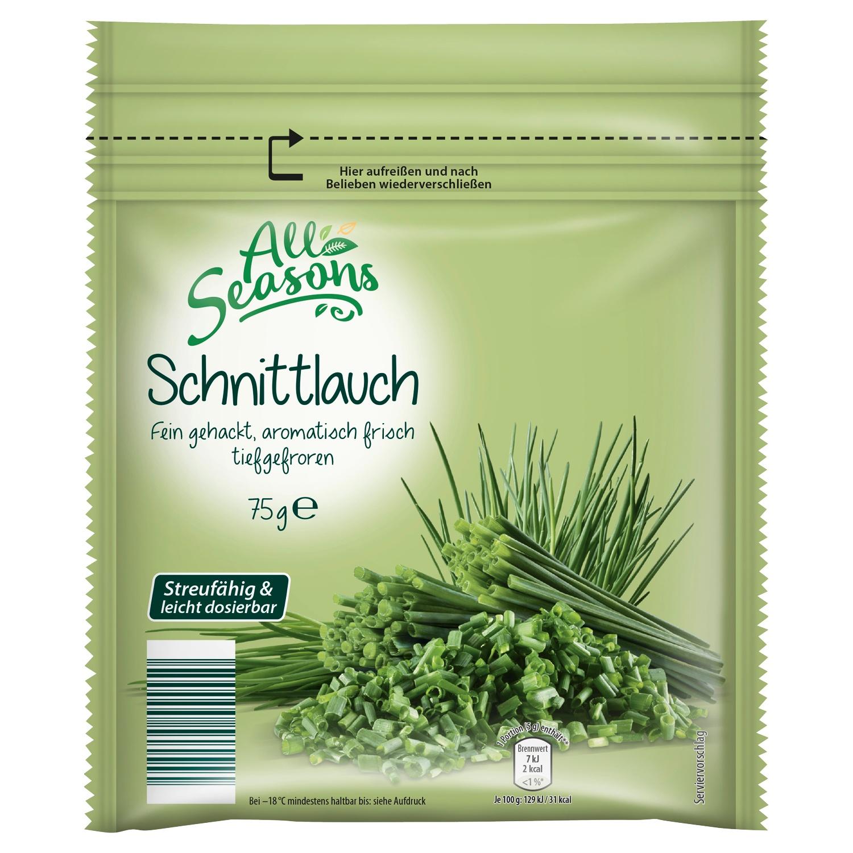 All Seasons Schnittlauch/ Petersilie, tiefgefroren 75g