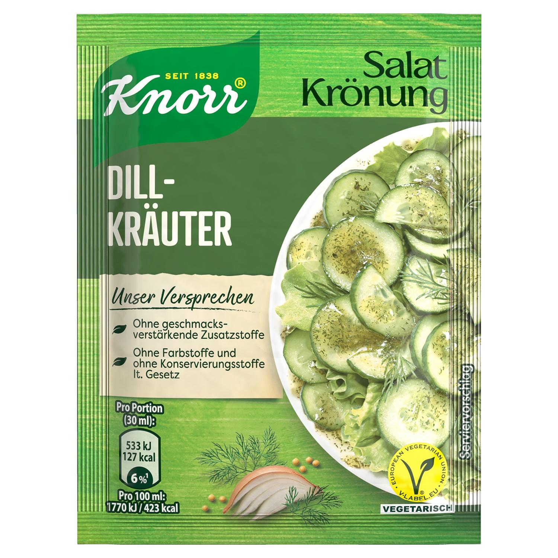 Knorr Salat Krönung Dill-Kräuter/Paprika-Kräuter 6er Pack