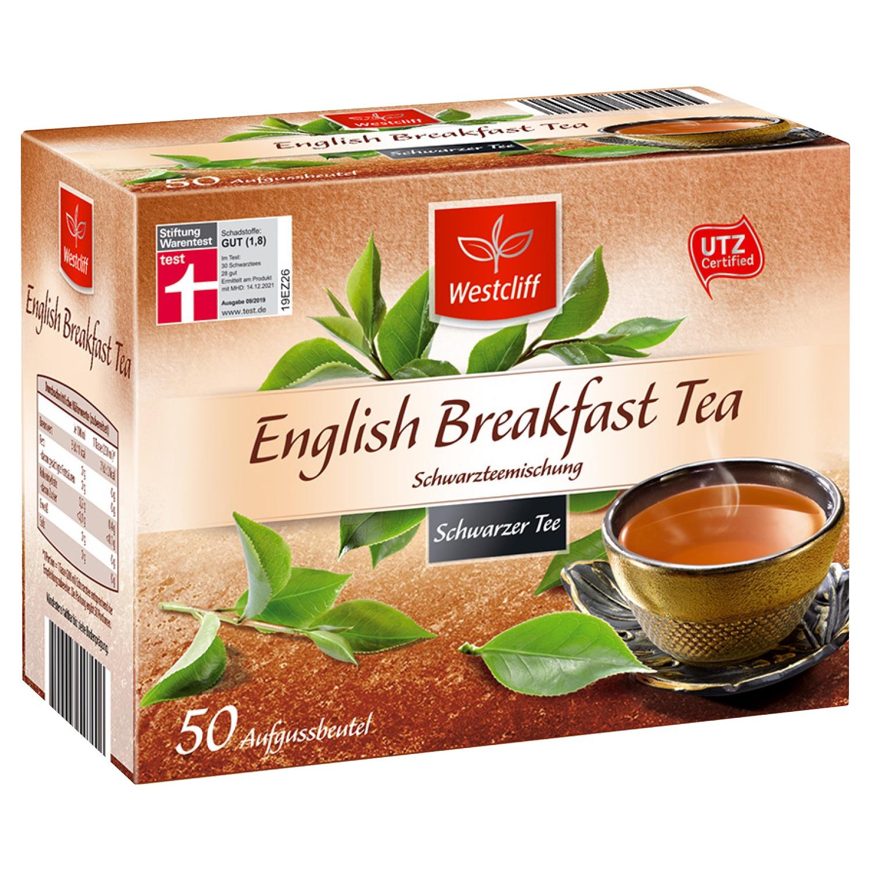 Westcliff Earl Grey Schwarzer Tee 40 Aufgussbeutel