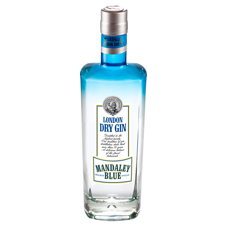 MANDALEY BLUE London Dry Gin 0,7 l