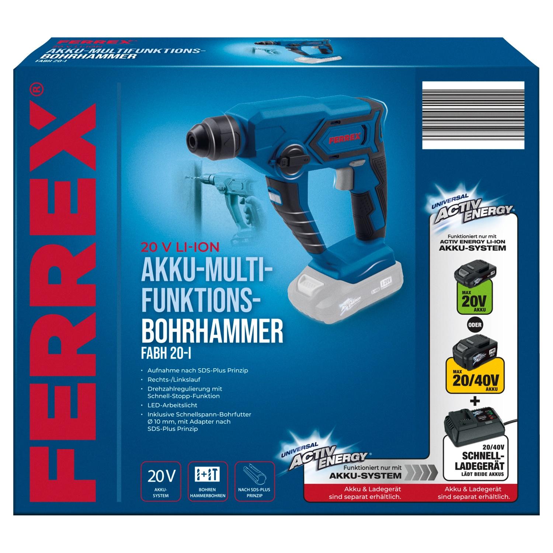FERREX® 20 V Akku-Multifunktions-Bohrhammer*