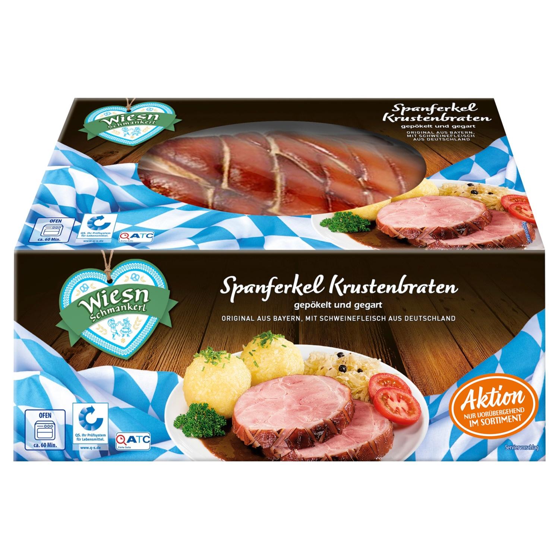 Wiesn Schmankerl Spanferkel Krustenbraten 1kg*