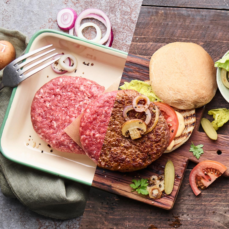 BBQ Hamburger vom Wagyu-Rind 240g*