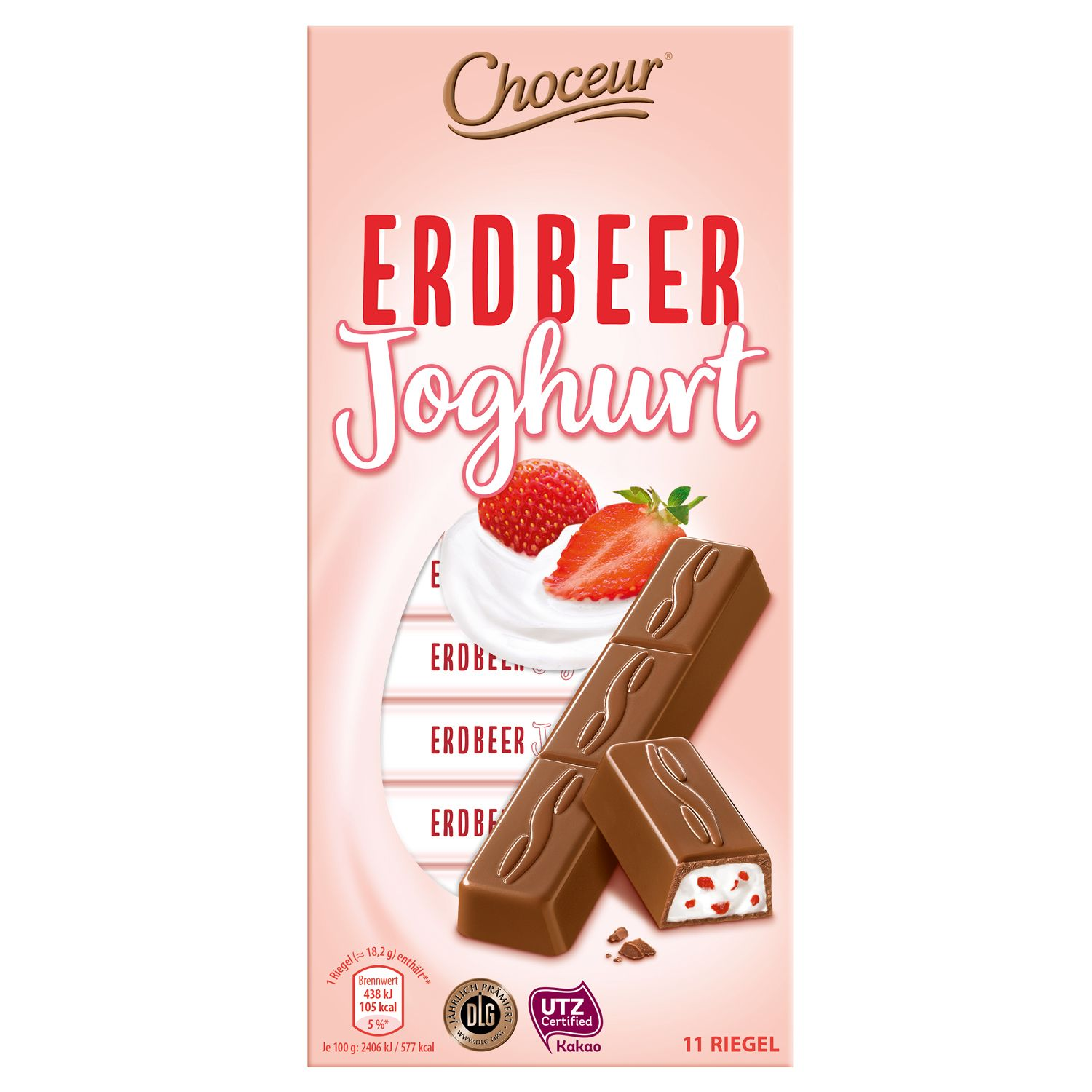 Choceur Schokoriegel-Sortiment 200g