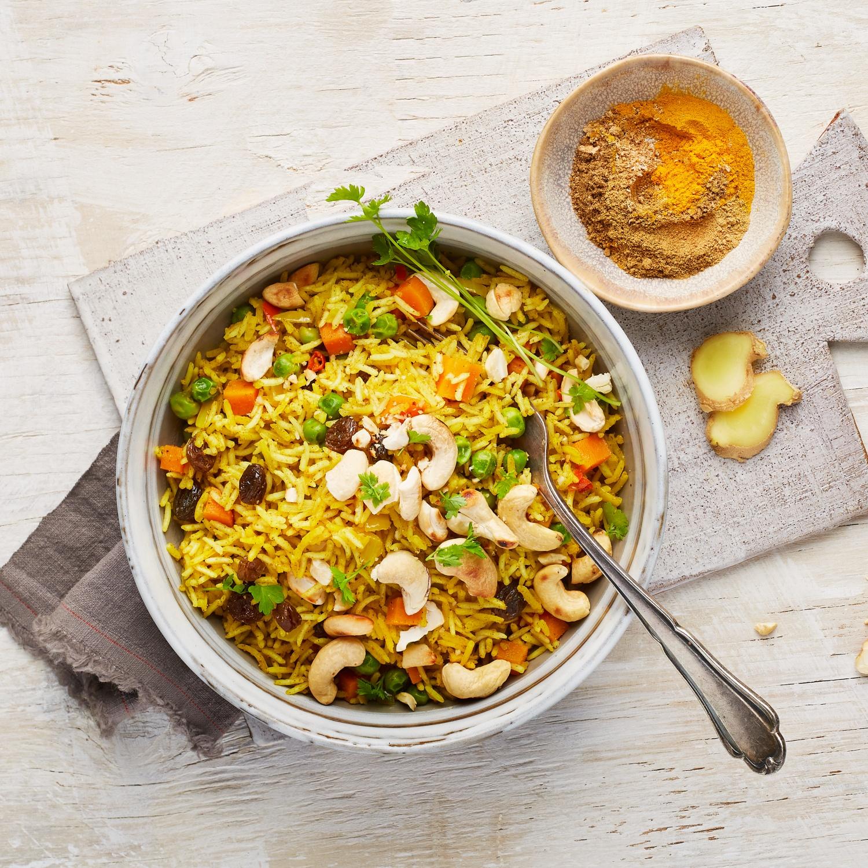 Biryani – veganes Reisgericht