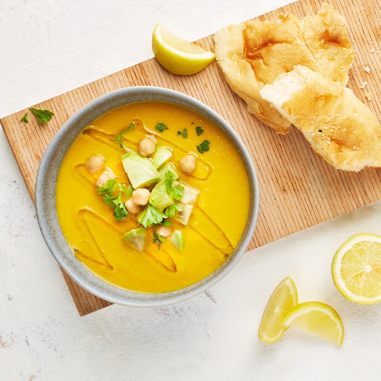 Kichererbsen-Möhren-Suppe