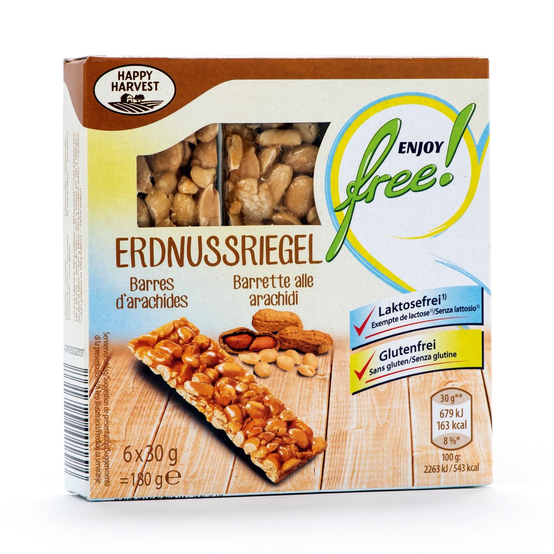 ENJOY FREE! Riegel glutenfrei, Erdnuss
