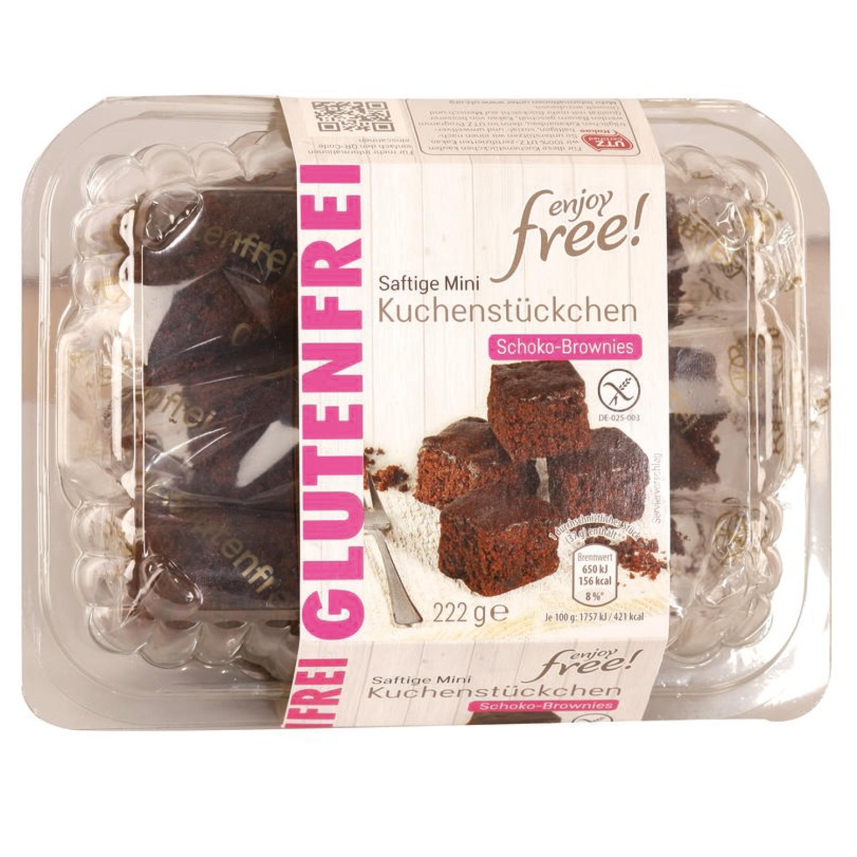 enjoy free! Glutenfreie Mini-Kuchenstückchen 222g
