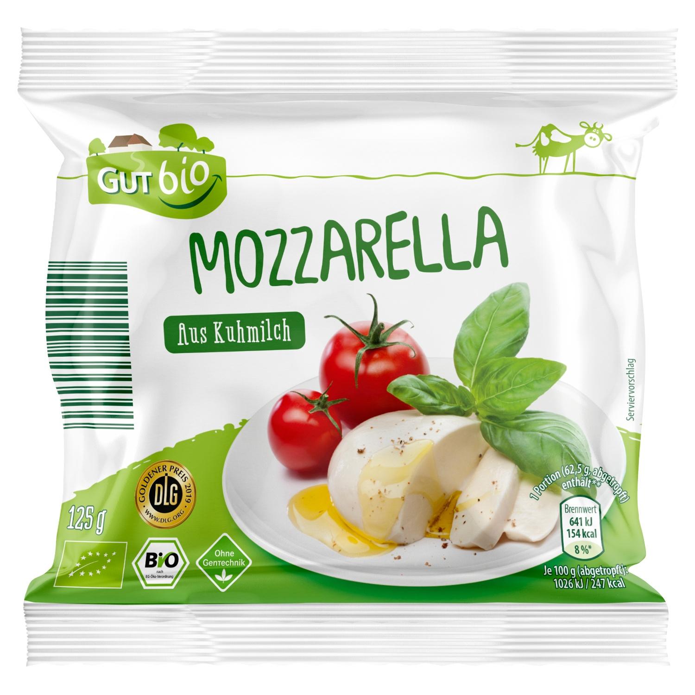 GUT bio Bio-Mozzarella 125 g