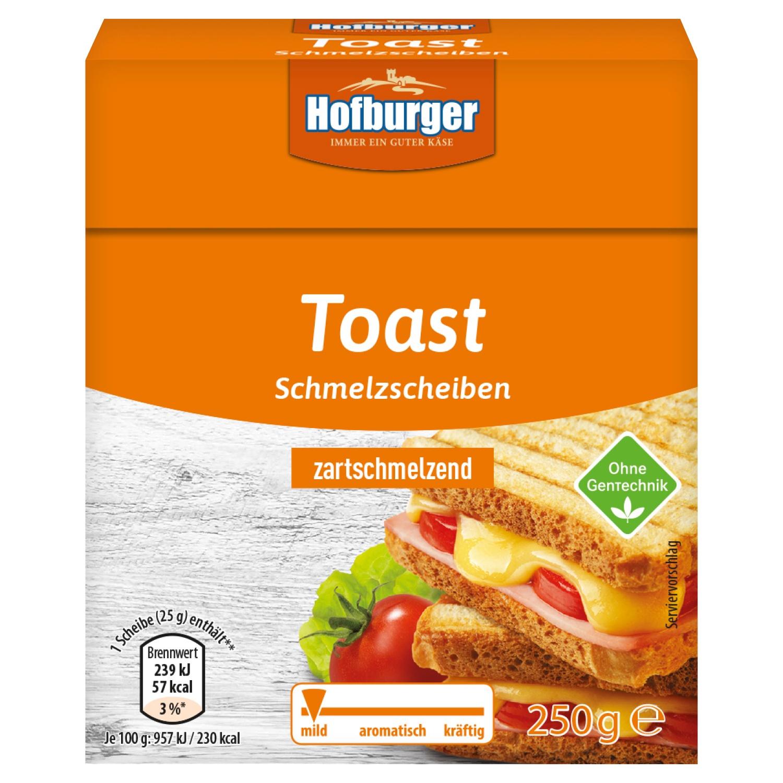 Hofburger Toast Schmelzscheiben 250 g