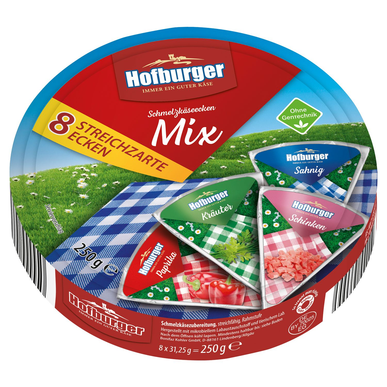 Hofburger Schmelzkäse Ecken 250g