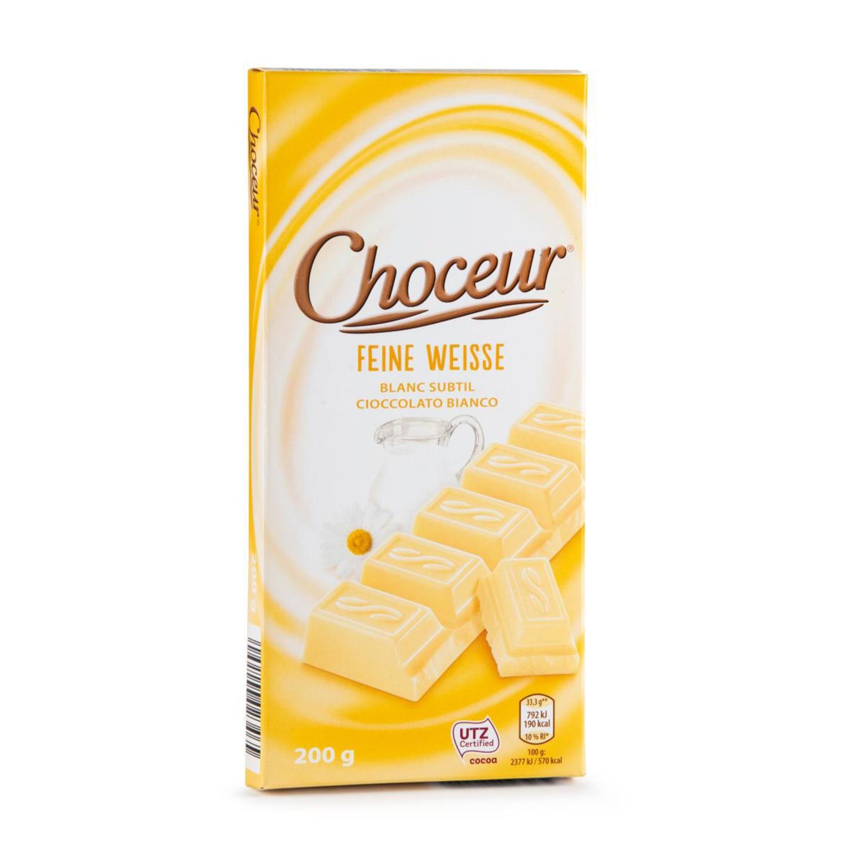 CHOCEUR Weiße Schokolade
