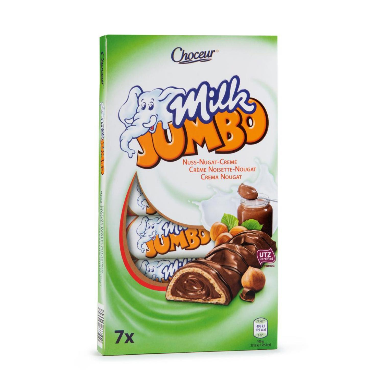CHOCEUR Jumbo-Riegel, Nuss-Nugat