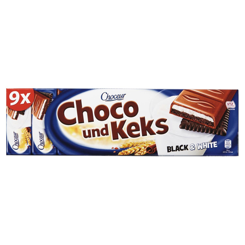 CHOCEUR Schoko & Keks, Black & White