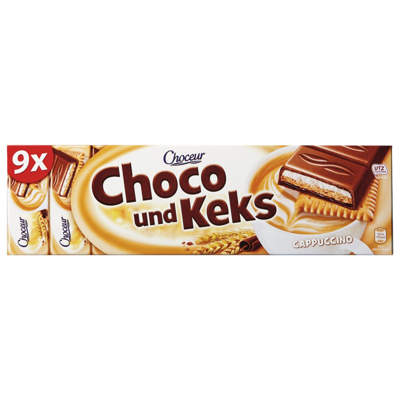 CHOCEUR Schoko & Keks, Cappuccino