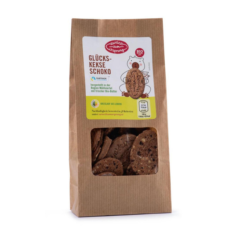 ZURÜCK ZUM URSPRUNG BIO-Kekse, Schokolade