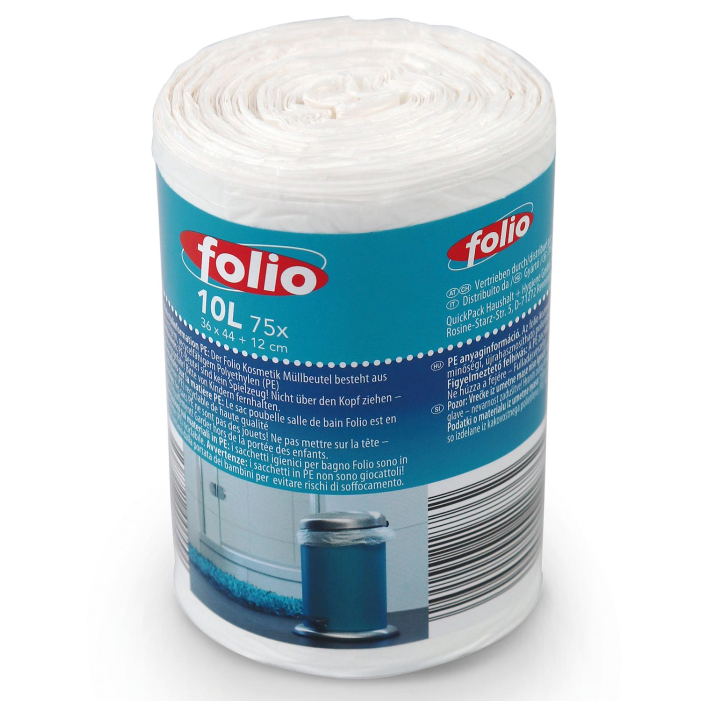 FOLIO Kosmetikmüllbeutel mit Griff 10 l