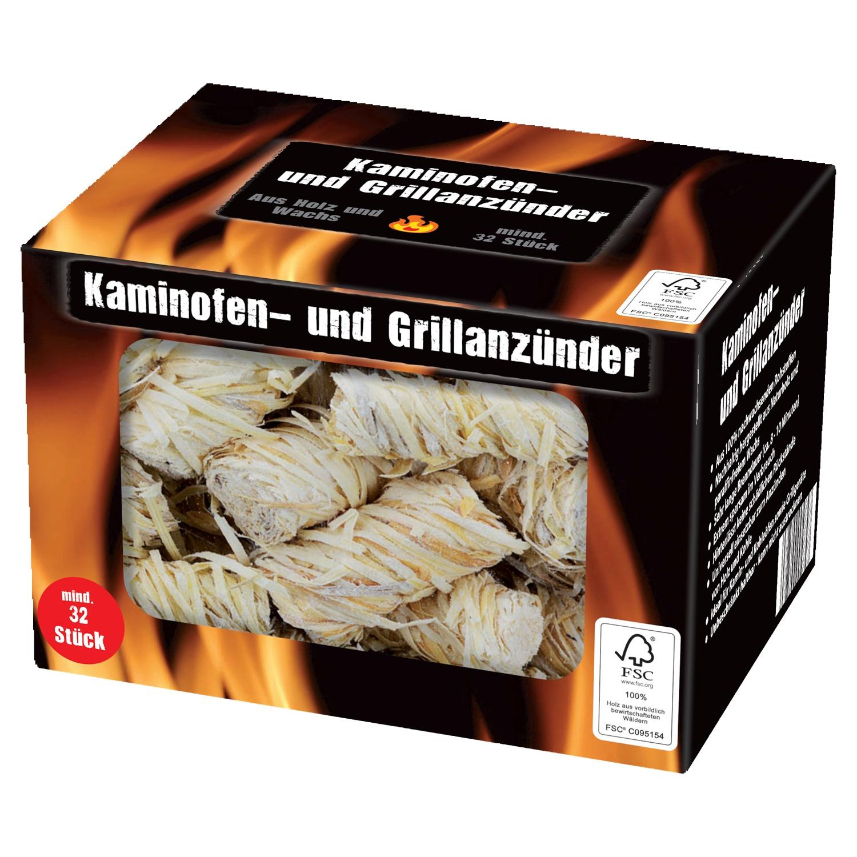 Kaminofen- und Grillanzünder*
