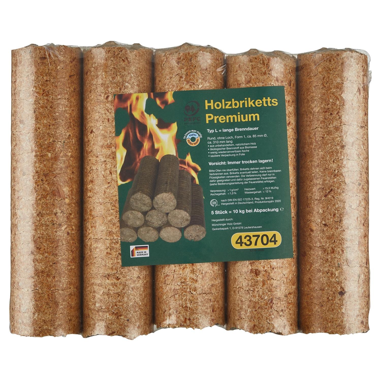 Premium-Holzbriketts 10kg*
