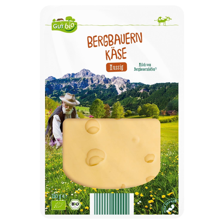 GUT bio Bio-Bergbauern Käse 150 g