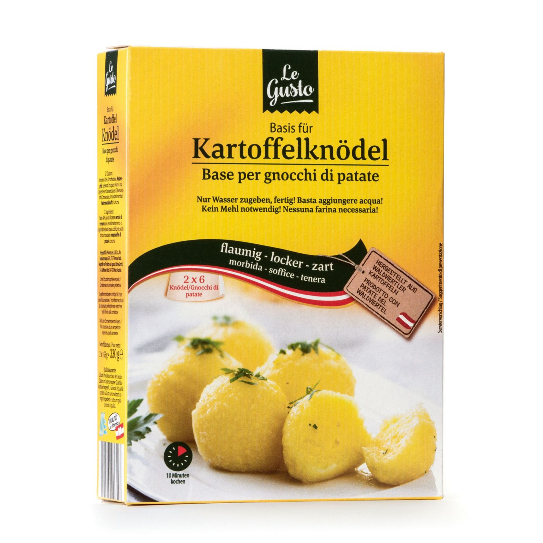 LE GUSTO Basis für Kartoffelknödel