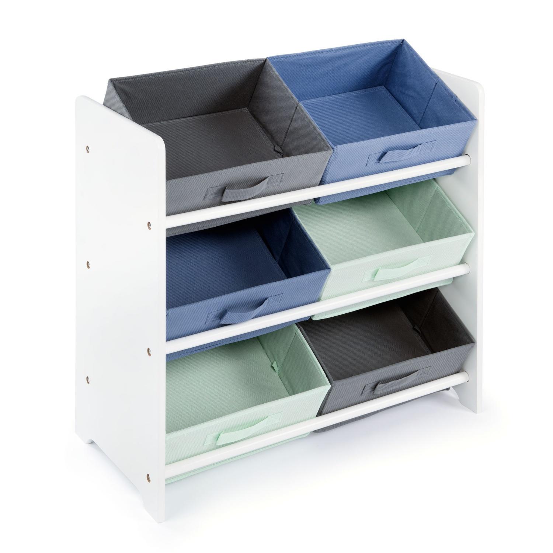 Urban Lifestyle Bücherregal mit 1 Schublade Weiß 60×30×170