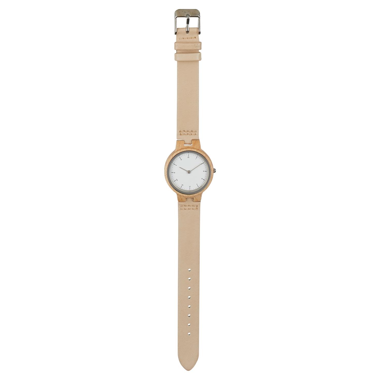 KRONTALER Holz-Armbanduhr Slim Line*