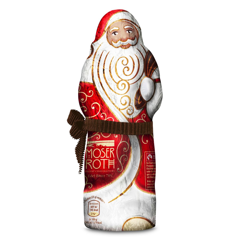 MOSER ROTH Weihnachtsmann, Zartbitter