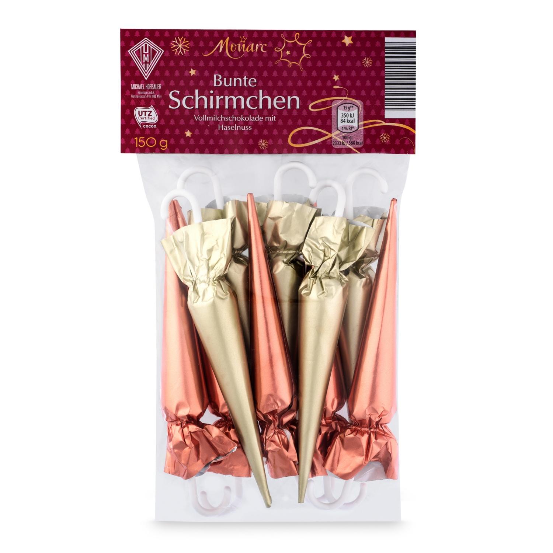MONARC Bunte Schirmchen, Rose-Perlenglanz