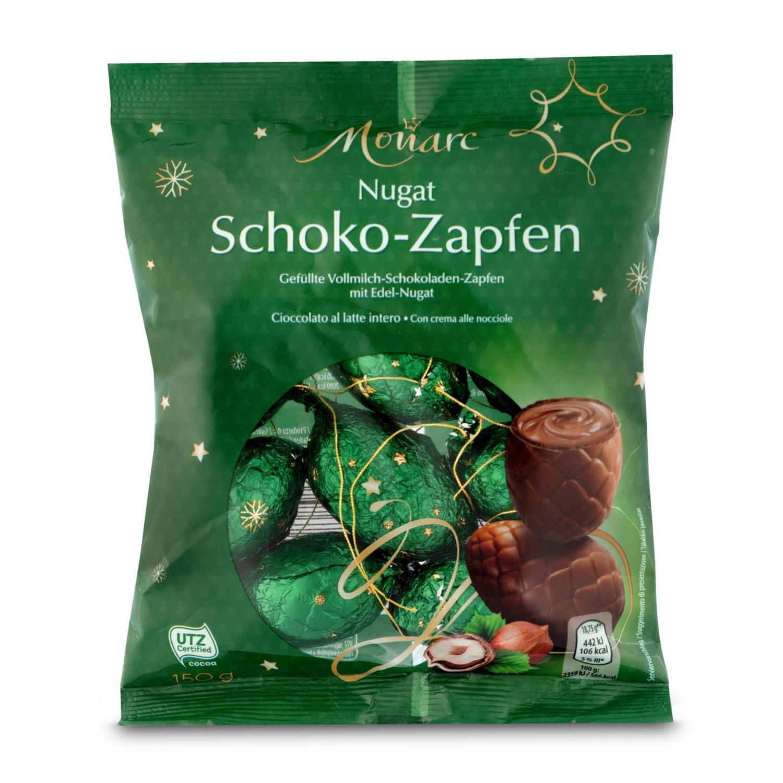 MONARC Schoko-Zapfen, Nugat
