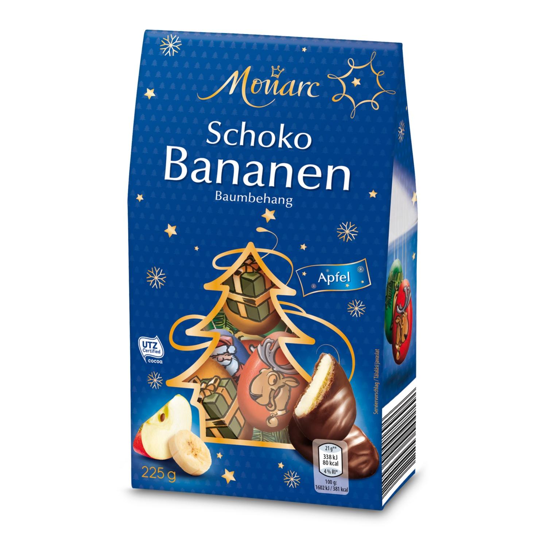 MONARC Schoko Bananen-Baumbehang, Tiere