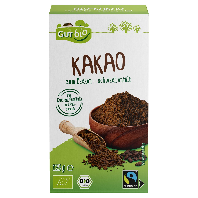 GUT bio Kakaopulver 125 g*